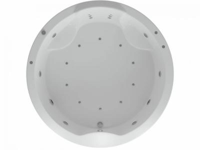 Ванна акриловая Акватек Аура 180 см