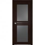Дверь Профиль дорс 2.56XN Дарк браун - со стеклом