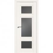 Дверь Профиль дорс 2.105U Дарк вайт - со стеклом