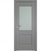 Дверь Профиль Дорс 2U Грей - со стеклом