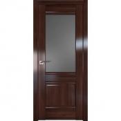 Дверь Профиль дорс 2X Орех сиена - со стеклом