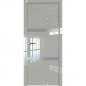 Дверь Профиль дорс 30LK Галька люкс - со стеклом