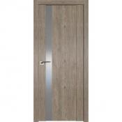 Дверь Профиль дорс 62XN Каштан темный - со стеклом